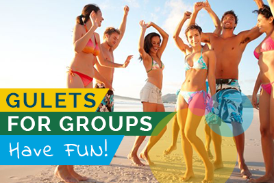 Gulets For Groups